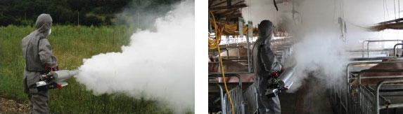 Применение генераторов тумана
