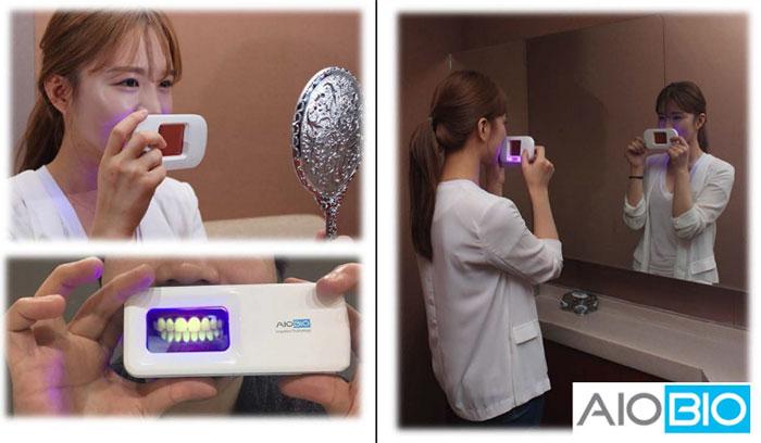 неоновый прибор для проверки зубов